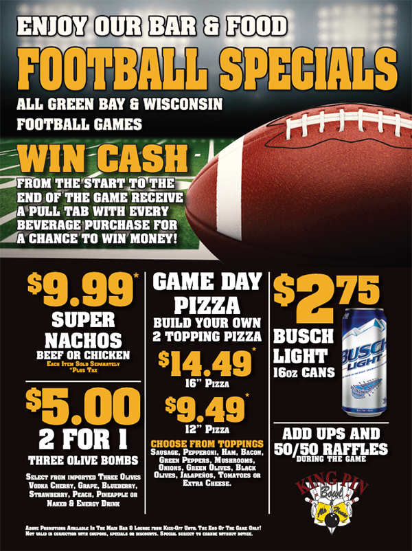 Packers Specials